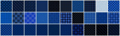 مجموعه پترن های پیکسلی PixelArt