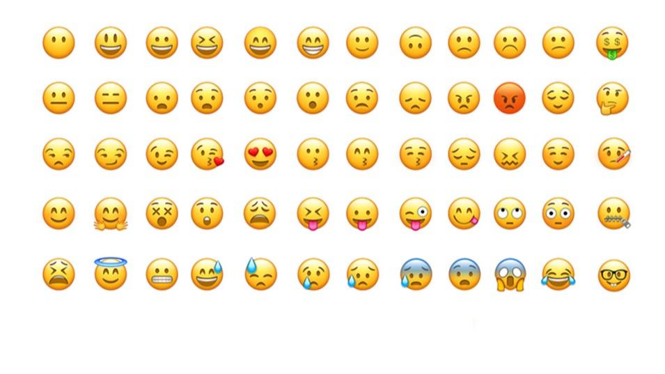 وکتور لایه باز ایموجی Emoji