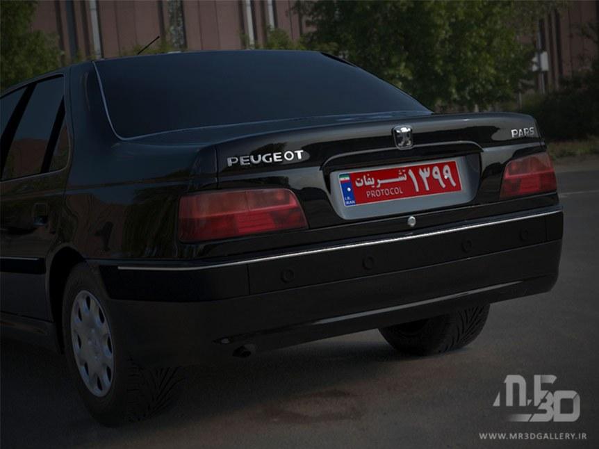 پلاک تشریفات-پژو پارس